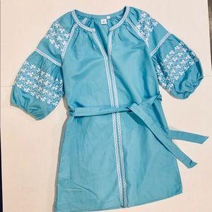 🦋GAP Spring Festive Linen Dress Size Small🦋